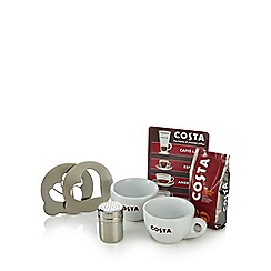 Costa - Barista set with sprinkler, stencils and Costa coffee - 200g