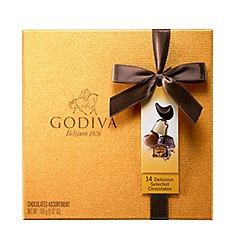 Godiva - Gold Box 14 pieces