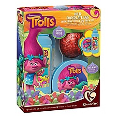 Kinnerton - Trolls egg, snack pot & bottle