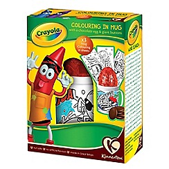 Kinnerton - Crayola Colour In Mug and Egg 95g