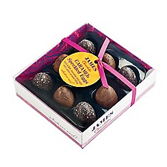 James Chocolates - Nine chocolate mini eggs filled with oozing salted caramel - 120g