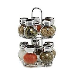 La Cucina - 10 Jar Carousel Spice Set