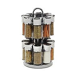 La Cucina - 16 Jar Carousel Spice Set