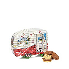 Debenhams - Caravan Shaped Biscuit Tin