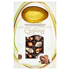 Guylian - Luxury gold foiled milk chocolate egg and 22 praline filled seashells