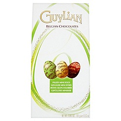 Guylian - Filled mini eggs in milk truffle, original praline and dark praline flavours