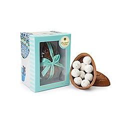 Charbonnel et Walker - Milk Chocolate Easter Egg filled with milk sea salt caramel truffles