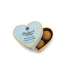 Charbonnel et Walker - Blue Heart Dark Sea Salt Caramel Truffles