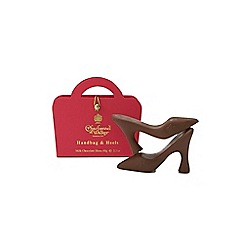 Charbonnel et Walker - Milk Chocolate Shoes in Pink Handbag - 60g