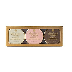 Charbonnel et Walker - Marc De Champagne Truffles - Milk,Pink and Dark - 44g each
