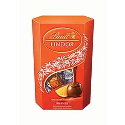 Lindt - Lindor Milk Orange Truffles 200g