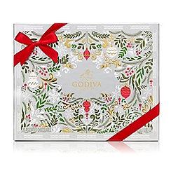 Godiva - Christmas Chocolate Box 20 pieces