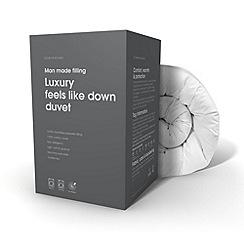 Debenhams - 13.5 tog 'Feels like down' luxury microfibre synthetic duvet