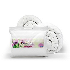 Fogarty - 'Summer Soft' 12 tog All Seasons hollowfibre duvet (3 + 9 tog)