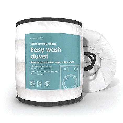 Debenhams - 10.5 tog +Easy wash+ hollowfibre synthetic duvet