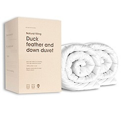 Debenhams - Goose feather & down 13.5 tog duvet