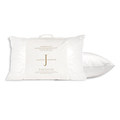 J by Jasper Conran - +Supremely Soft+ duck down pillow