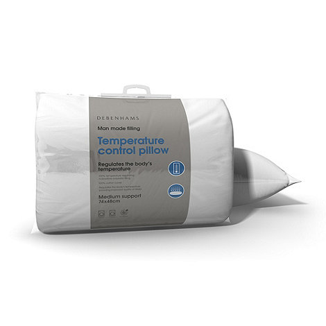 Debenhams - +Temperature Control+ hollowfibre pillow