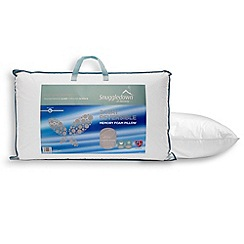 Snuggledown - Reversible 2-way memory foam pillow