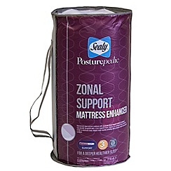 Sealy - Zonal support memory foam mattress enhancer
