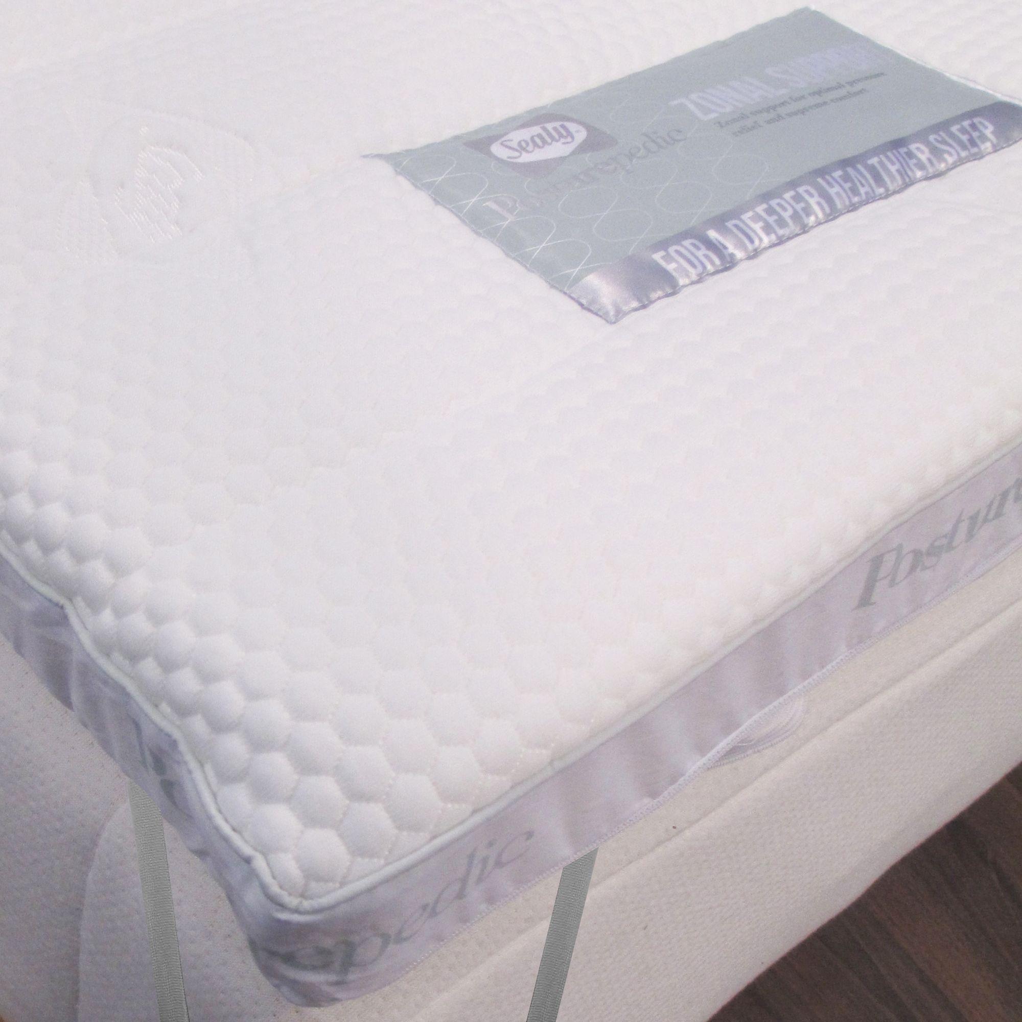 Sealy Zonal Support Memory Foam Mattress Enhancer From Debenhams Ebay