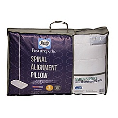 Sealy - Posturepedic spinal alignment pillow with medium support (5cm)