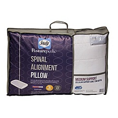 Sealy - Posturepedic spinal alignment pillow with medium support (7cm)