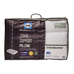 Sealy - Posturepedic zonal support pillow with extra firm support