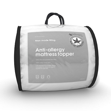 Debenhams - Fogarty anti-allergy mattress top