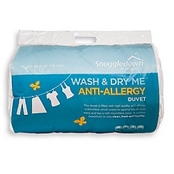 Snuggledown - 4.5 tog washable anti-allergy synthetic duvet