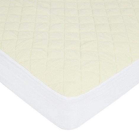 Debenhams - Fleece quilted mattress protector