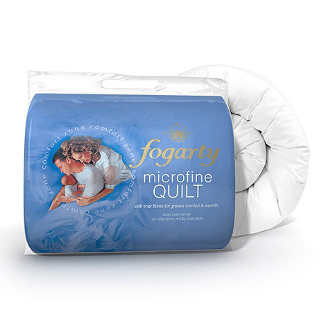 Fogarty - 15 tog +Microfine+ hollowfibre synthetic duvet