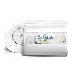 Fogarty - Cool & Light hollowfibre 12 tog all seasons (3+9tog) duvet