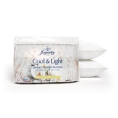 Fogarty - Cool & Light hollowfibre pillow pair