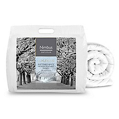 Nimbus - Softened goose feather 12 tog duvet