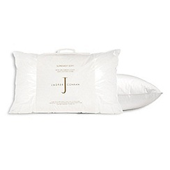 J by Jasper Conran - 'Supremely Soft' white duck down pillow