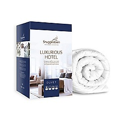 Snuggledown - 15 tog 'Hotel' luxury hollowfibre all season duvet (4.5 + 10.5 tog )