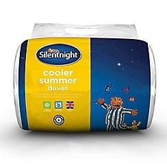 Silentnight - 7.5 tog 'Cooler Summer' microfibre duvet