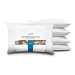 Snuggledown - Scandinavian' pillow 4 pack