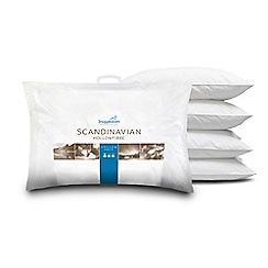Snuggledown Scandinavian Pillow : Bedding Debenhams