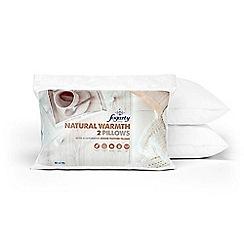 Fogarty - Natural warmth goose pillow pair