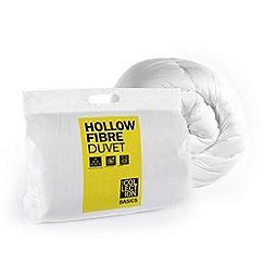 Home Collection Basics - 10.5 tog hollowfibre synthetic duvet