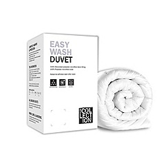 Home Collection - 13.5 tog 'Easy wash' all seasons hollowfibre synthetic duo duvet (4.5 + 9 tog)