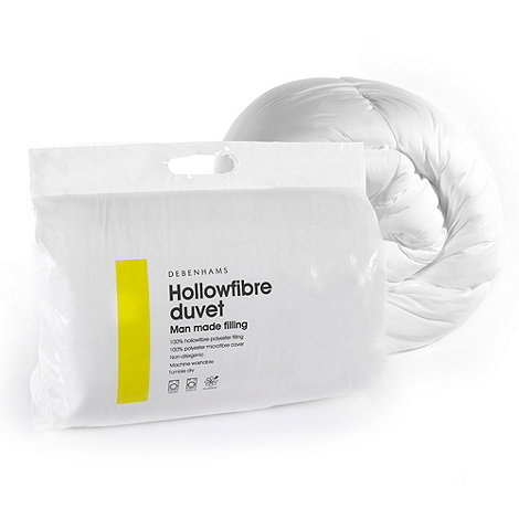 Home Collection Basics - 4.5 tog hollowfibre synthetic duvet