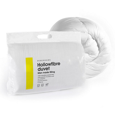 Debenhams - 10.5 tog hollowfibre synthetic duvet