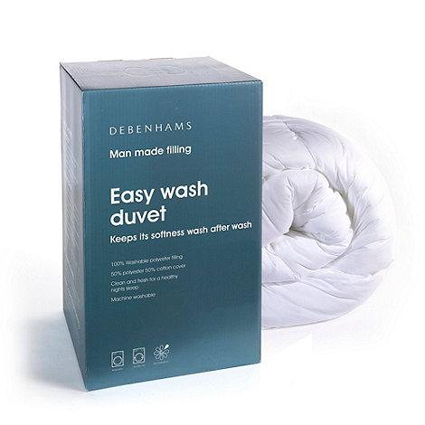 Debenhams - +Easy wash+ hollowfibre 10.5 tog duvet
