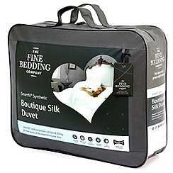 Fine Bedding Company - 13.5 tog 'Boutique silk' synthetic duvet