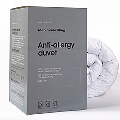 Debenhams - 13.5 tog anti-allergy microfibre synthetic duvet