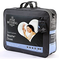 Fine Bedding Company - 10.5 tog 'Breathe' microfibre synthetic duvet