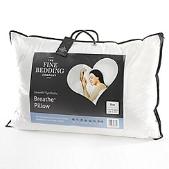 Fine Bedding Company - 'Breathe' polyester pillow